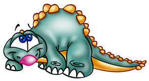 Cute dinosaur Stock Image