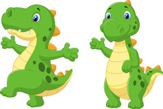 Free Cute Dinosaur Cartoon Stock Photos - 45705863