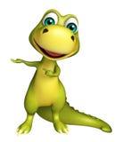 Cute Dinosaur cartoon character  Royalty Free Stock Photography