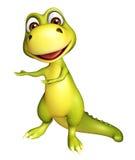 Cute Dinosaur cartoon character Stock Photo