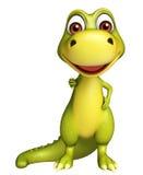 Cute Dinosaur cartoon character  Royalty Free Stock Photos