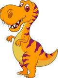 Cute dinosaur cartoon Royalty Free Stock Photos