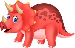 Cute dinosaur cartoon Stock Image