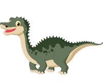 Cute dinosaur cartoon Royalty Free Stock Photo