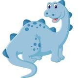 Cute dinosaur cartoon Stock Photo