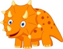 Cute Dinosaur cartoon Royalty Free Stock Photography