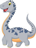 Cute dinosaur cartoon posing Stock Photo