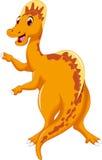 Cute dinosaur cartoon smiling Royalty Free Stock Image
