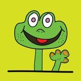 Cute dinosaur had vector illustration Stock Image