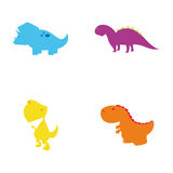 Cute Dinosaur Toys Stock Images