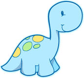 Cute Dinosaur Vector Stock Photo