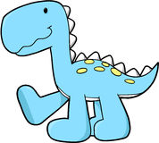 Cute Dinosaur Vector Stock Photo