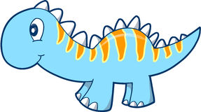 Cute Dinosaur Vector  Royalty Free Stock Image