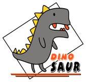 Cute dinosaur vector design vector illustration