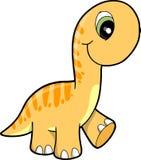 Cute Dinosaur Vector Illustration Stock Photography