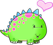 Cute Dinosaur Vector Stock Images