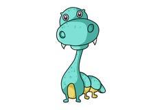 Cute Dinosaur. Stock Photos