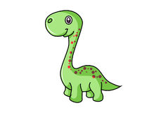 Cute Dinosaur. Stock Image