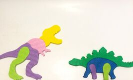 Cute Dinosaurs colorful body