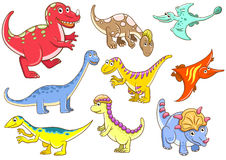 Cute dinosaurs Royalty Free Stock Photography