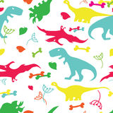 Cute dinosaurs  no Effects, no mesh Stock Photos