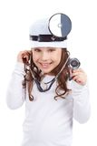 Cute doctor royalty free stock image