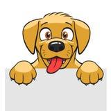 Cute dog banner Royalty Free Stock Photos