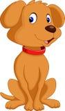 Cute dog cartoon Royalty Free Stock Photos