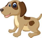 Cute dog cartoon Royalty Free Stock Image