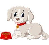 Cute dog cartoon Stock Image