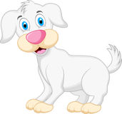 Cute dog cartoon Royalty Free Stock Photography