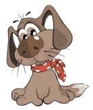 Cute dog. Cartoon Stock Photos