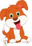 Cute dog cartoon. Vector illustration of cute dog cartoon Stock Images