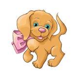 Cute dog. Illustration of a cute dog Stock Image