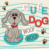 Cute dog Royalty Free Stock Photos