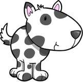 Cute Dog Vector. Cute Puppy Dog Vector Illustration Royalty Free Stock Photo