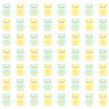 Cute Doll pattern. Stock Photography