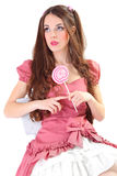 Cute doll Royalty Free Stock Image