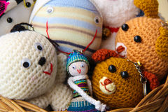 Cute dolls Royalty Free Stock Images