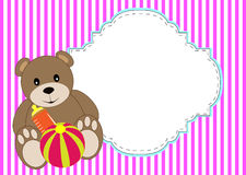Cute dolly bear Stock Photography