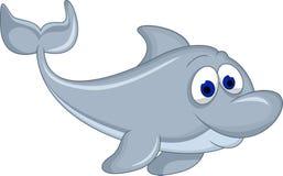 Cute dolphin cartoon Royalty Free Stock Photos