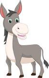 Cute donkey cartoon Royalty Free Stock Photo