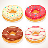 Cute donuts Royalty Free Stock Image