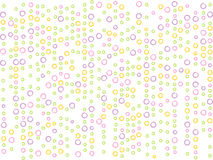 Cute dotted pattern Royalty Free Stock Photos