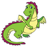 Cute dragon stock images