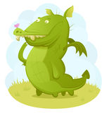 Cute Dragon Royalty Free Stock Photography