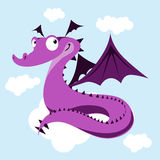 Cute dragon Stock Photos