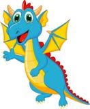 Cute dragon cartoon Royalty Free Stock Photography