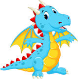Cute dragon cartoon Royalty Free Stock Images