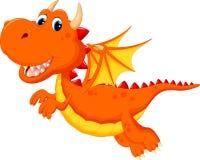 Cute dragon cartoon Royalty Free Stock Photo